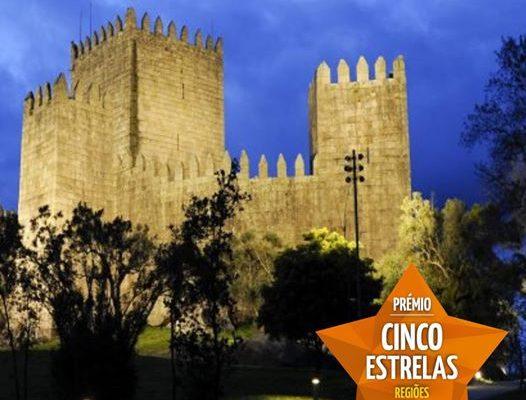 Cinco Estrelas - Regiões Distinção entregue ao Castelo de Guimarães