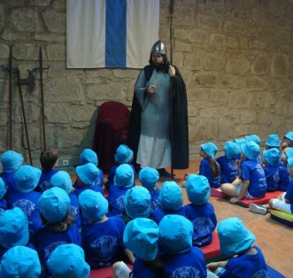 Serviço Educativo - Encontro com D. Afonso Henriques