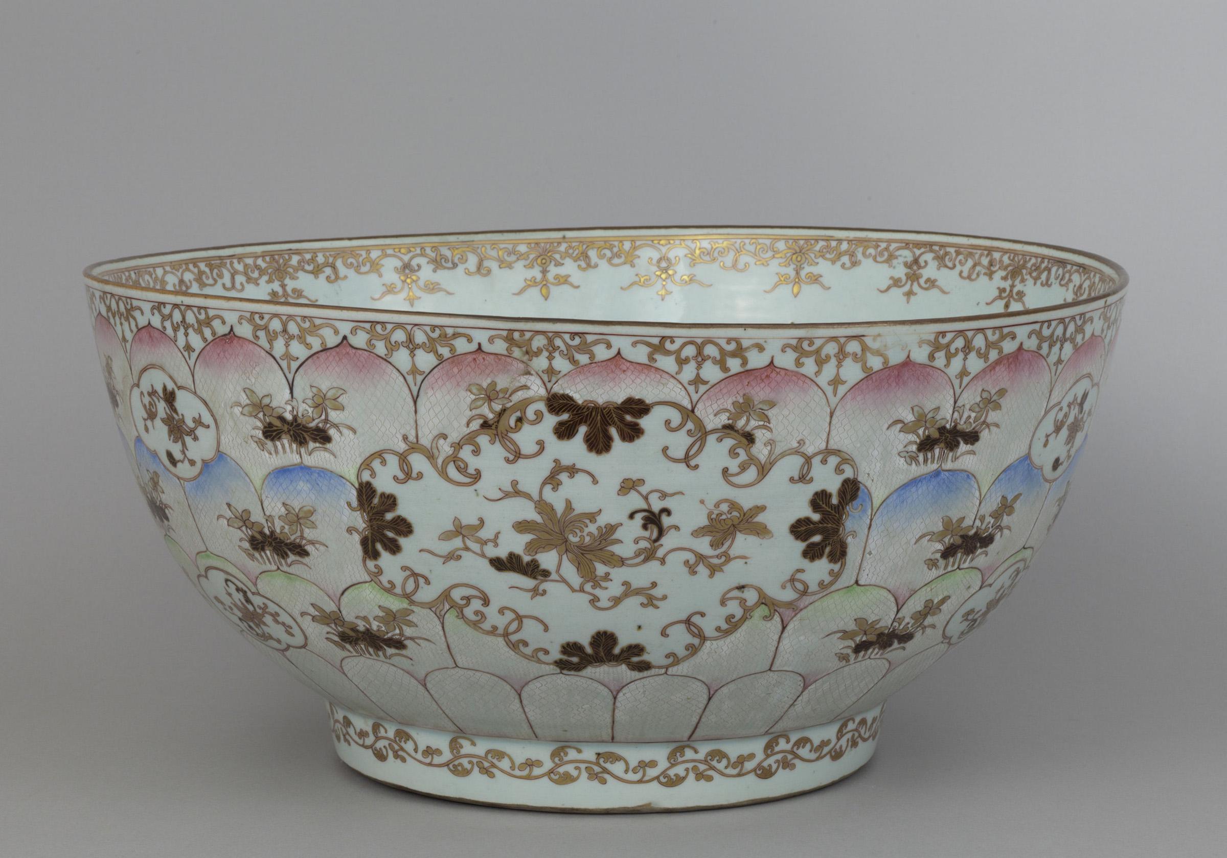 Objeto museológico (poncheira chinesa)