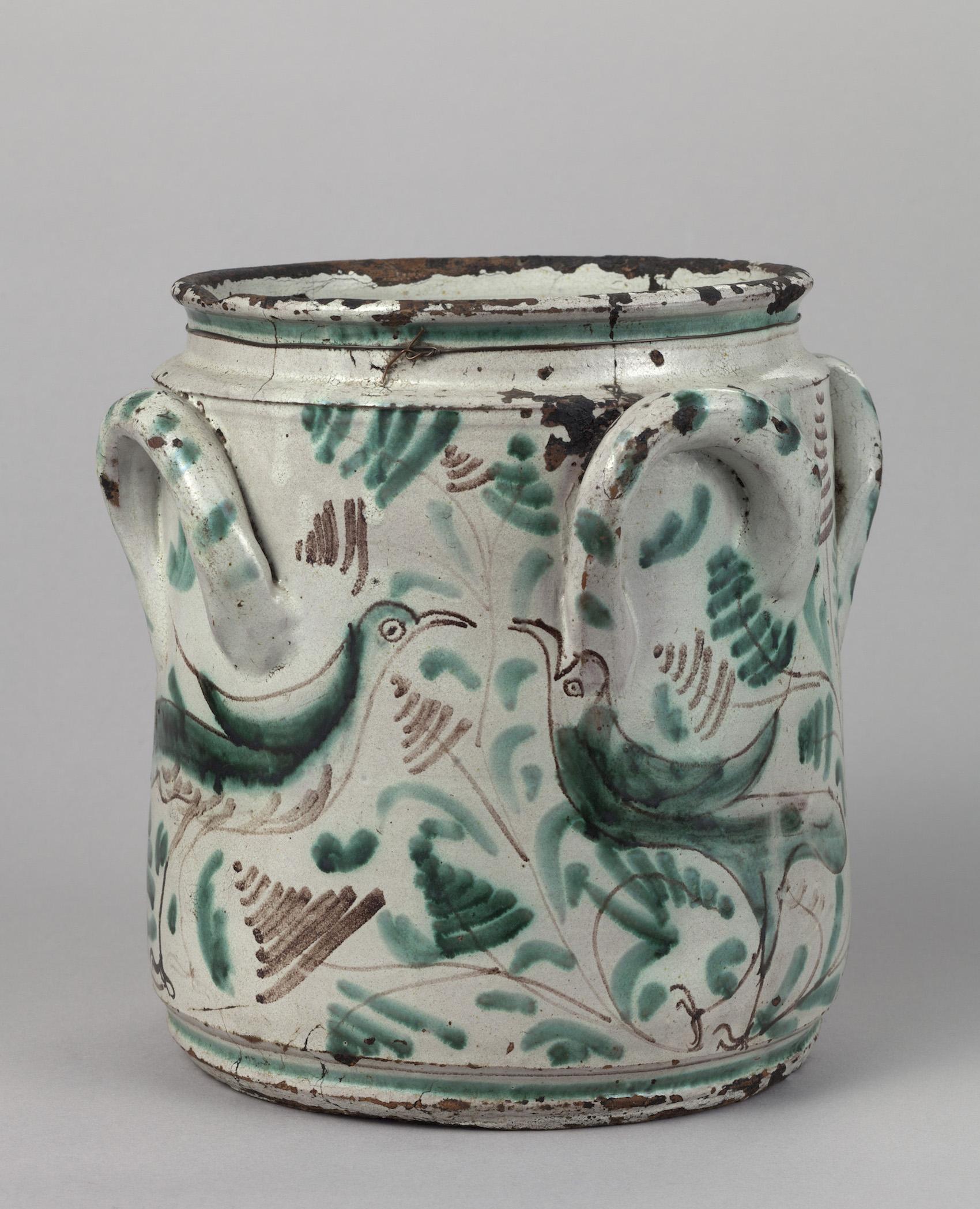 Objeto museológico (vaso Talavera de la Reina)