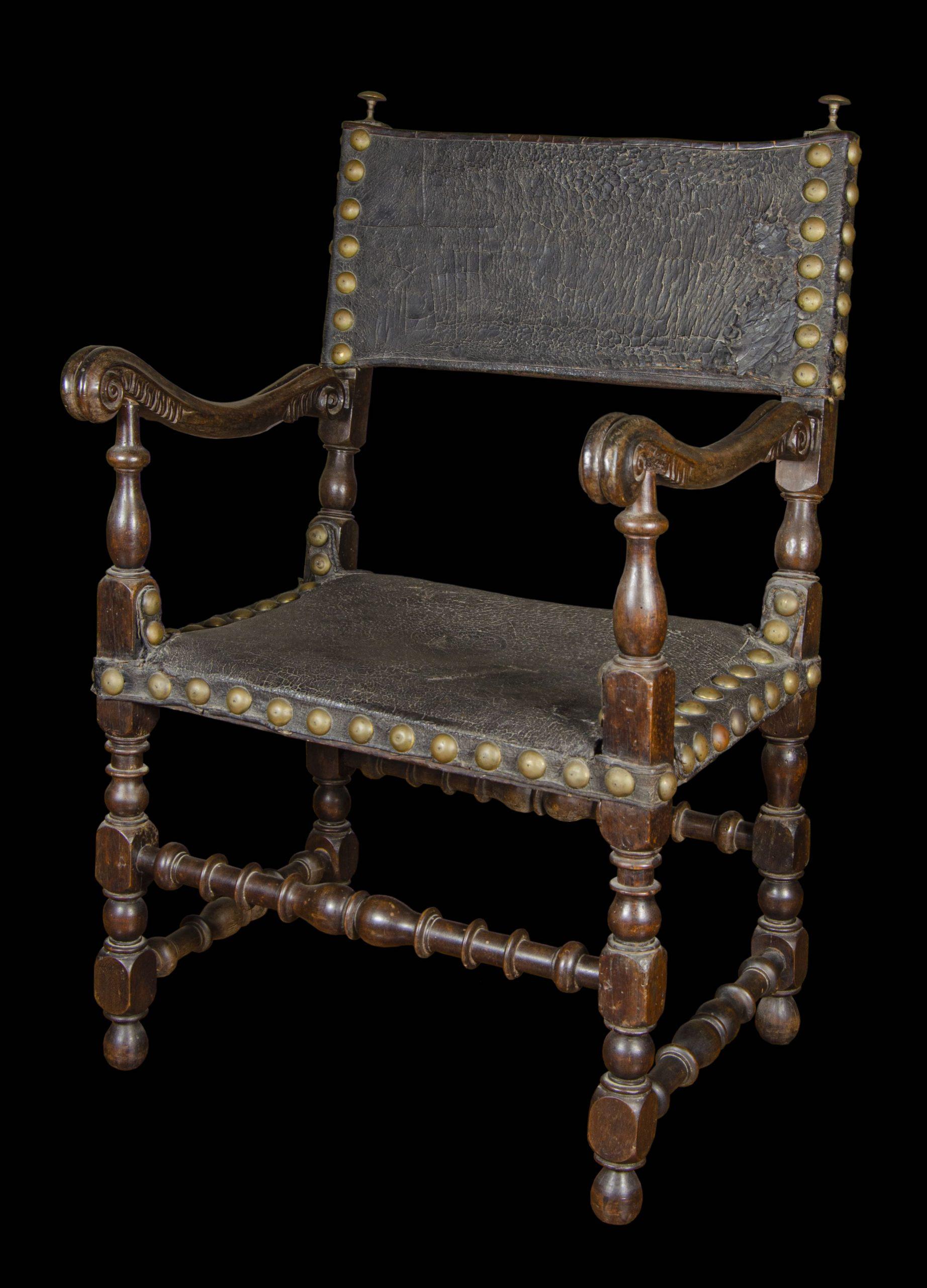 Objeto museológico - Cadeira