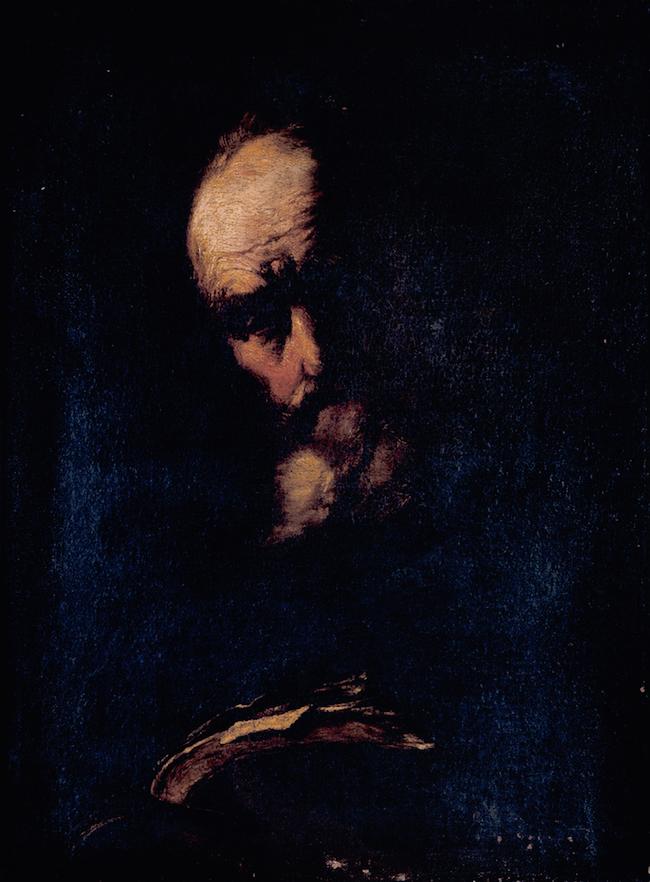 Objeto museológico - Retrato de Filósofo