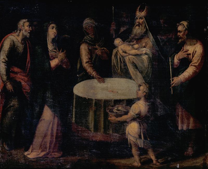 Objeto museológico - Circuncisão do Menino Jesus