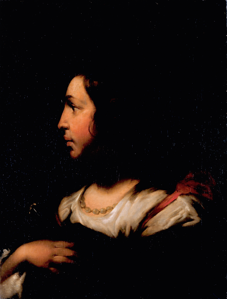Objeto museológico - Retrato de Senhora