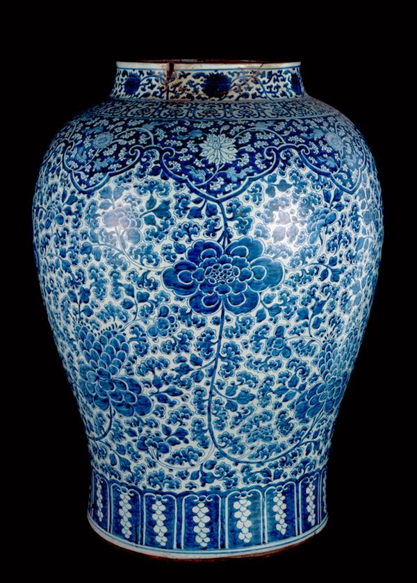 Objeto museológico - pote chinês