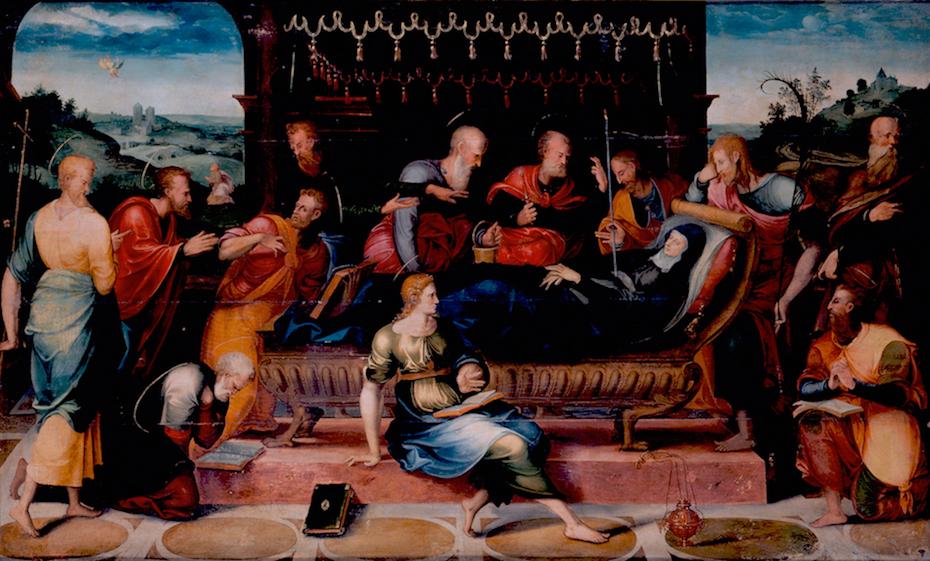 Objeto museológico - Dormição da Virgem
