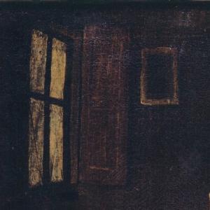 Pormenor da pintura Cena de interior