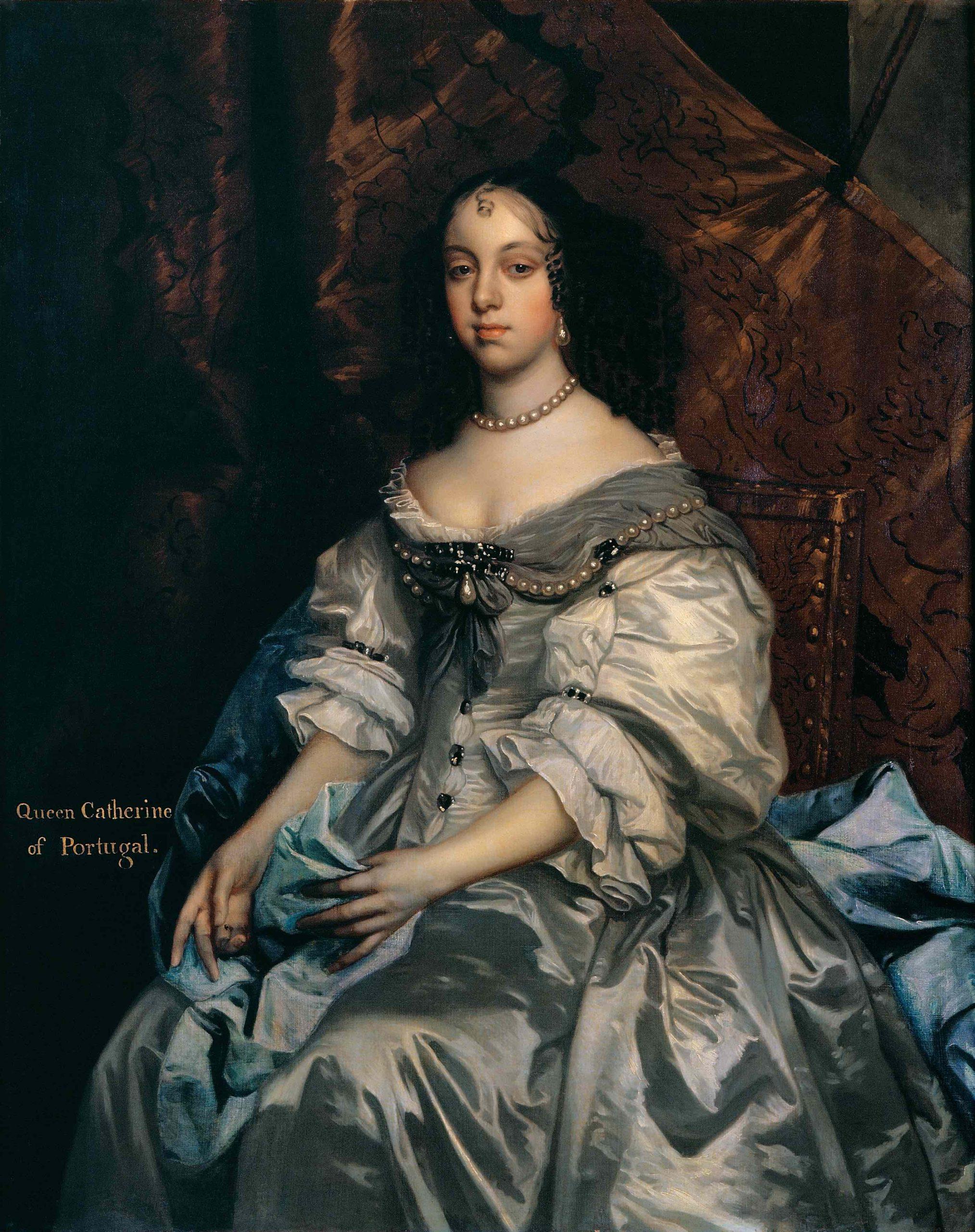 Pintura Retrato de D. Catarina de Bragança