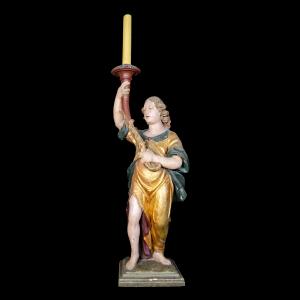 Pormenor do anjo candelário