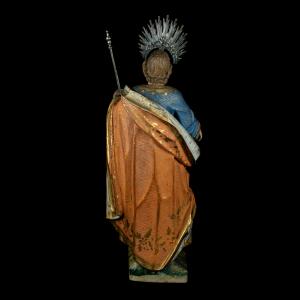 Pormenor da escultura